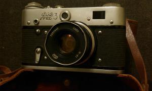 Фото антиквар, Кино-Фото камеры Фотоаппарат ФЭД 3