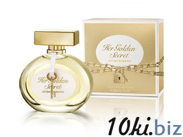 Туалетная вода Antonio Banderas Her Golden Secret ,80 мл купить в Вологде - Парфюмерия унисекс