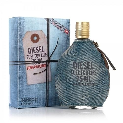 Туалетная вода Diesel Fuel For Life Denim Collection, 75 ml