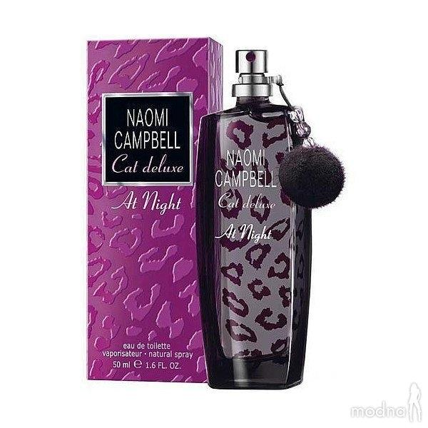 Туалетная вода Naomi Campbell Cat Deluxe at Night, 75 ml
