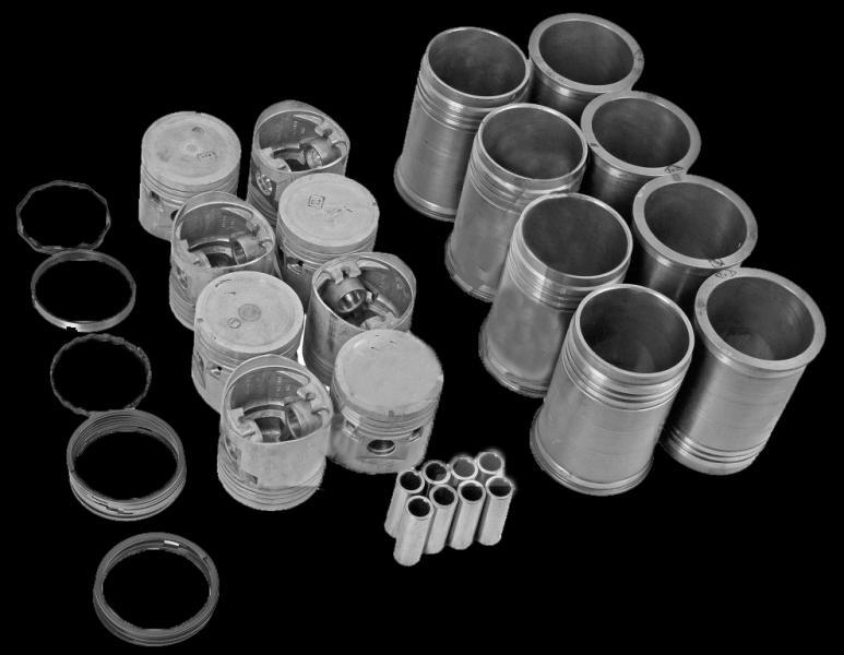 Гильзо-комплект (поршневая) (375-1000108-20) ЗИЛ-375 (ГП+Кольца+Палец) М/К (пр-во г.Мценск)