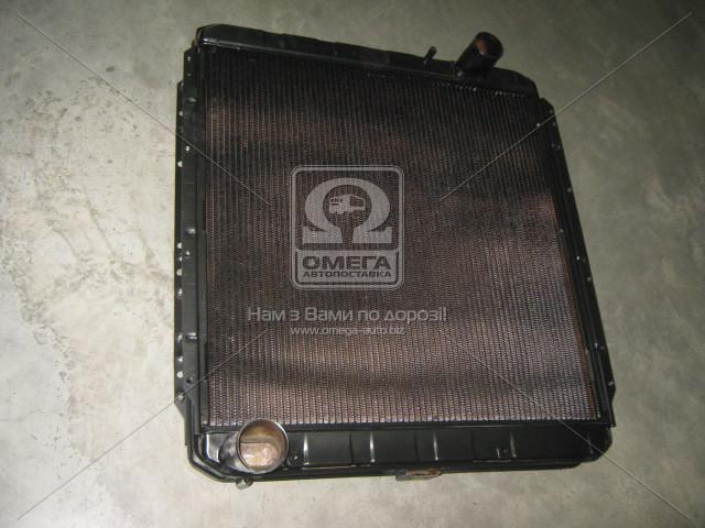 Радиатор водяного охлаждения (146.1301010-50) КАМАЗ-54115 с повыш.теплоотд. (4-х рядн.) (пр-во г.Бишкек)