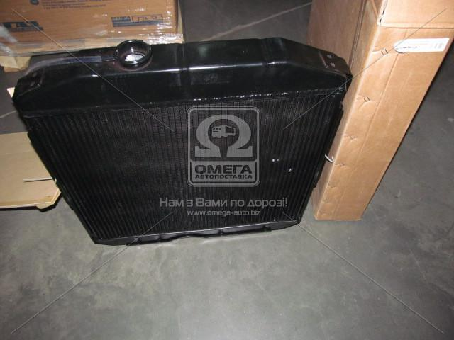 Фото Радиаторы охлаждения, Радиаторы ГАЗ Радиатор ГАЗ-53 водяного охлаждения 53-1301010-А  (2-х рядн.) алюм. <ДК>