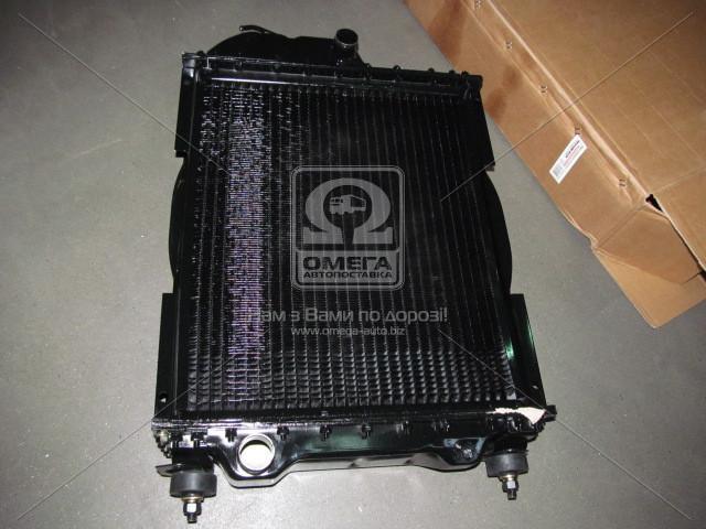Радиатор водяного охлаждения  МТЗ с дв. Д-240 (4-х рядн.)70У.1301.010-01А алюм.<ДК>