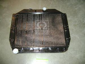 Радиатор водяного охлаждения (130-1301010) ЗИЛ 130 (4-х рядн.) (пр-во ШААЗ)