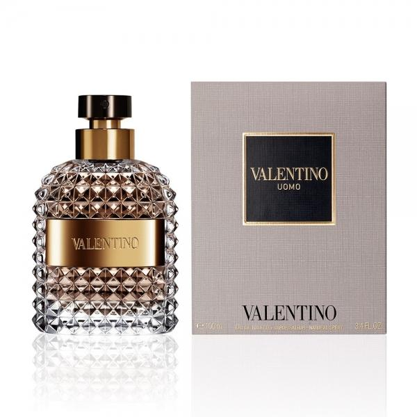 Туалетная вода valentino uomo valentino for men edt, 100ml