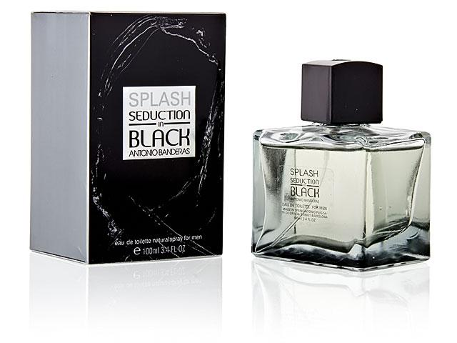 Туалетная вода Antonio Banderas Splash Seduction In Black 100ml