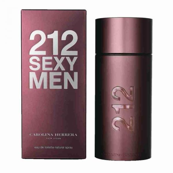 Туалетная вода Carolina Herrera 212 Sexy Men, 100 ml