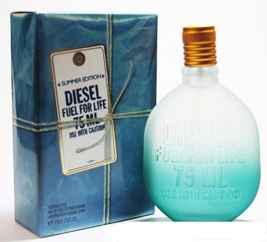 Туалетная вода Diesel (Fuel for Life Homme Summer Edition) 75 ml