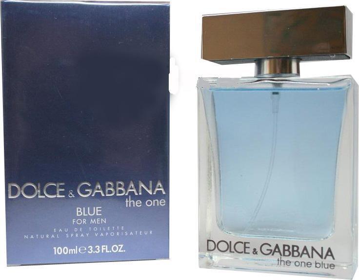 Туалетная вода Dolce And Gabbana (The One For Men Blue) 100 ml