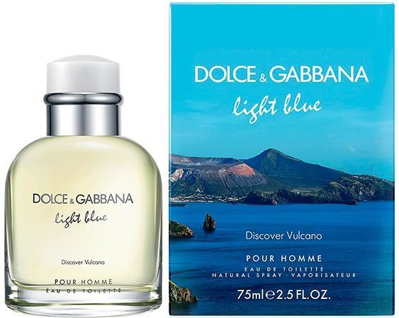 Туалетная вода dolce gabbana light blue discover vulcano