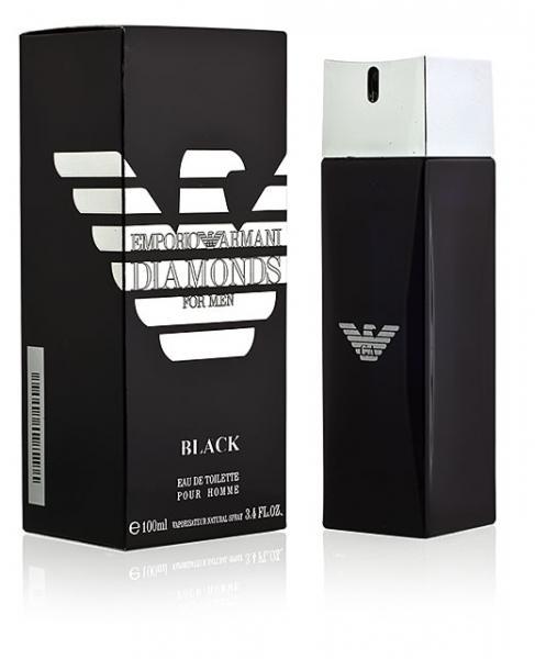 Туалетная вода Giorgio Armani Emporio Armani Diamonds Black for Men, 100 ml