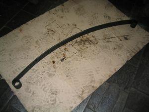 Лист ресори № 1 передней 3302-2902015-02 мл с ГАЗ-3302 2-лист. 1500мм з сайлент. (пр-во Чусова)
