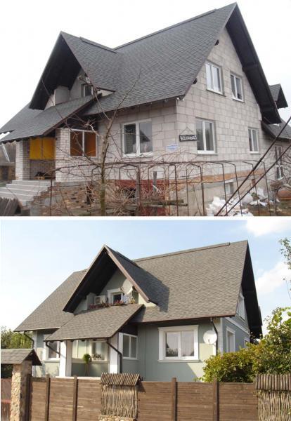 Проектирование дизайна фасада здания