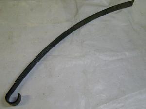 Лист ресори № 2 передней, задней 3302-2902102-10 ГАЗ-3302 1525 мм  (усил.) с ушком (пр-во Чусова)