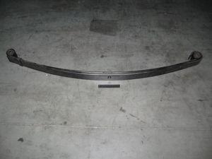 Рессора передняя 3302-2902010-01 ус с ГАЗ-3302 4-лист. посилений. 1588мм з сайлент. (пр-во Чусова)