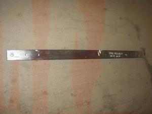 Лист ЗИЛ-130 задней рессоры № 1  1600мм з накл. 130Д-2912100-В  (пр-во Чусова)