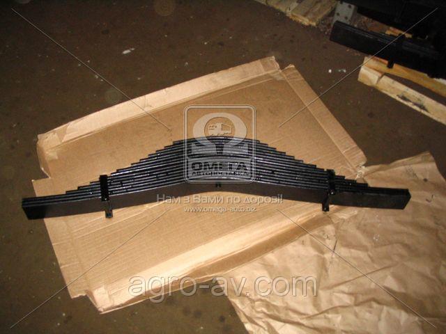 Ресора задняя (525-2902012-Б1) КрАЗ 15-лист. (пр-во Россия)