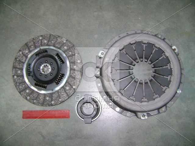 Сцепление (406-1601000-10) ГАЗ 406, 402  (ведомый+ведущий+муф. с подш.) (универсальное) <ДК>