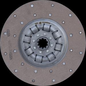 Диск сцепления ведомый (52-1601130-01) ГАЗ 52 (усиленный) (пр-во ТАРА)