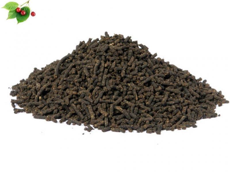 Иван-чай ферментированный гранулированный с листьями вишни