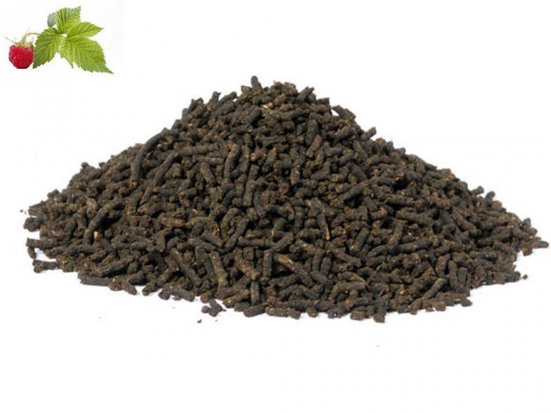 Иван-чай ферментированный гранулированный с листьями малины
