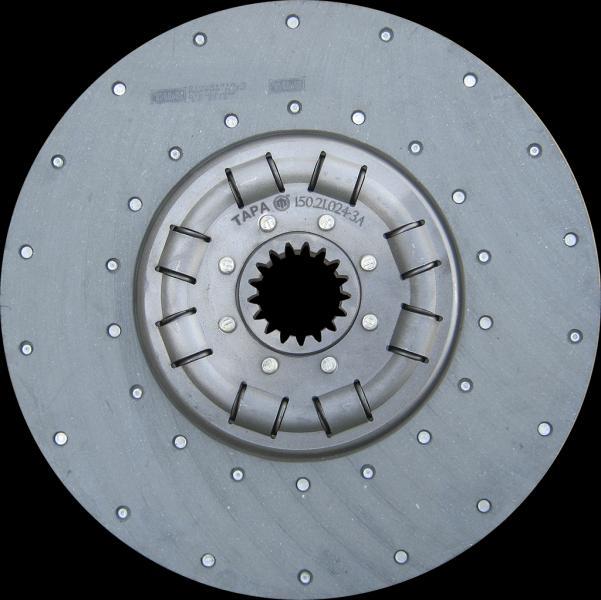 Диск сцепления ведомый (150.21.024-3А) Т-150 (усиленный) (пр-во ТАРА)