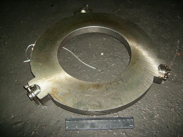 Фото Сцепление, Сцепление МТЗ Диск сцепления средний (1520-1601085) МТЗ-1221 в сб. (с пружиной) (пр-во БЗТДиА)