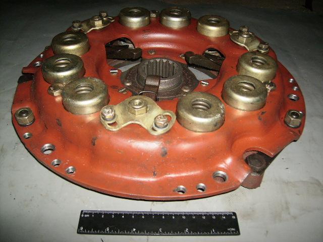 Фото Сцепление, Сцепление МТЗ Диск сцепления нажимной (80-1601090) МТЗ-80, 82 в сб. (корзина усиленная) н/о (пр-во БЗТДиА)