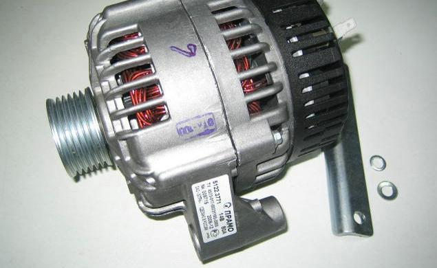 Генератор 5122.3771000 ГАЗ (ЗМЗ-406) 14В 80А (пр-во г.Ржев)