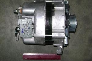 Генератор КамАЗ Евро-2, Евро-3 (дв.740.30, 740.31) 28В 80А (аналог 4001.3701) (пр-во г.Ржев) 3142.3771