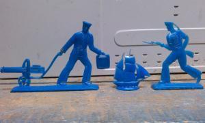 Фото антиквар, Игрушки Солдатики моряки