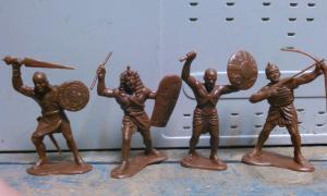 Фото антиквар, Игрушки Солдатики рыцари