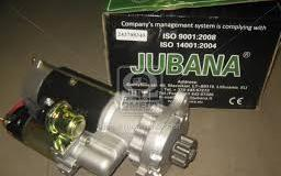 Стартер  МАЗ с.двигателем. 236, 238 ЯМЗ-656-658 Евро 3,( Z=10) 243708345 редукторный (ТМ JUBANA)