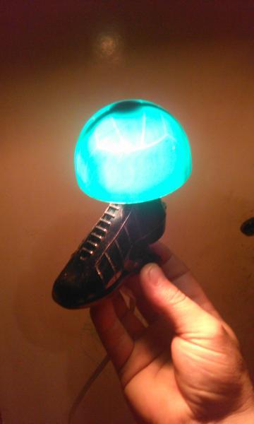 Светильник-ночник бутса с мячом