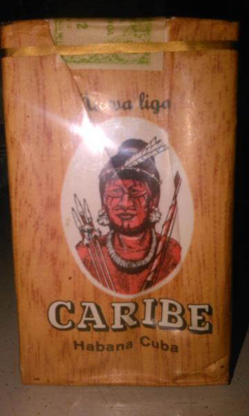 Пачка сигарет CARIBE