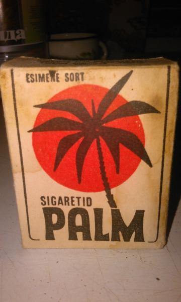 Пачка сигарет ПАЛЬМА