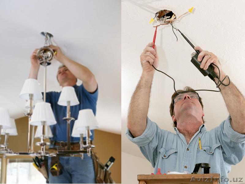 Монтаж светотехнического оборудования;