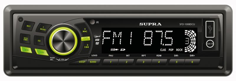 Supra  SFD-1008 DCU