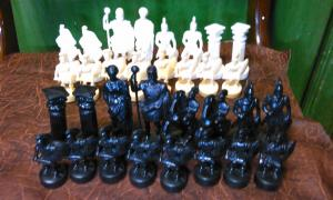 Фото антиквар, Родом из СССР Шахматы римляне