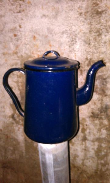 Чайник эмалированный ссср