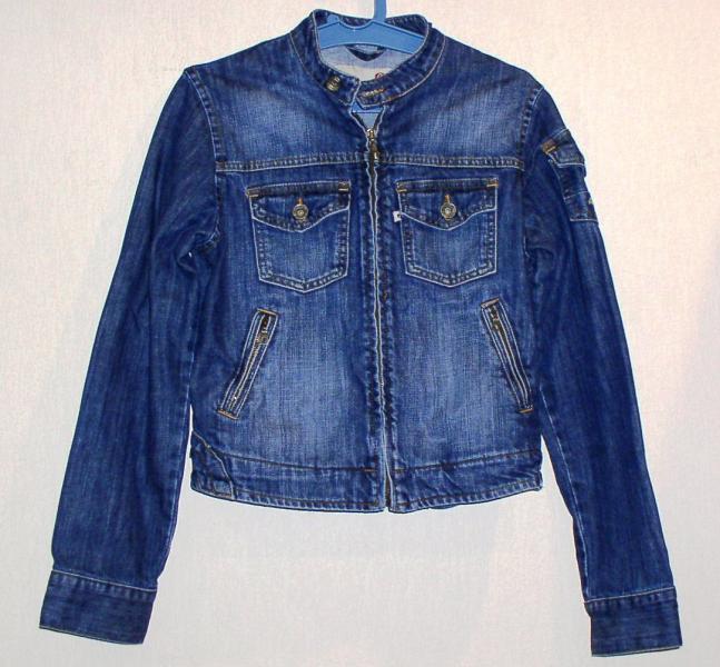 Куртка джинсовая подростковая *512