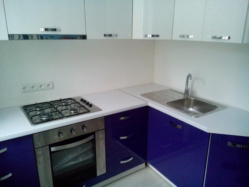 Кухня под заказ МДФ крашеный полировка