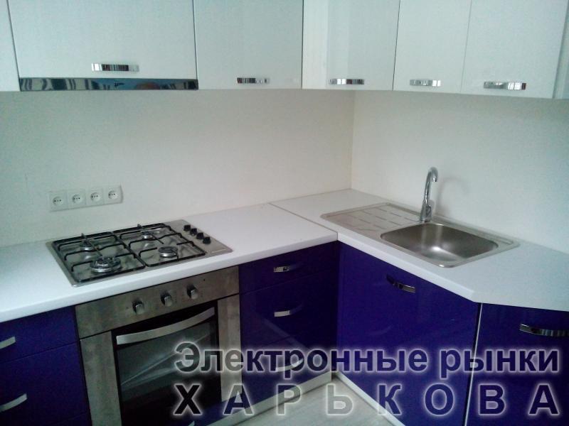 Кухня под заказ МДФ крашеный полировка - Кухонные гарнитуры на рынке Барабашова