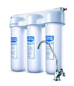 Фото Установка фильтров очистки воды Установка фильтра очистки воды