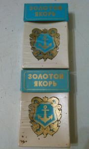 Фото антиквар, Фумофилия Пачка от сигарет Золотой Якорь