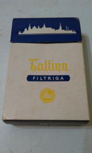 Фото антиквар, Фумофилия Пачка от сигарет Tallinn