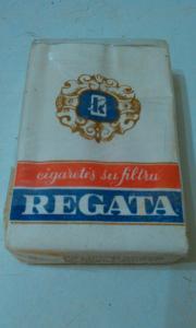 Фото антиквар, Фумофилия Пачка от сигарет Regata