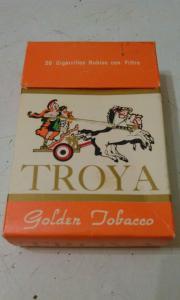 Фото антиквар, Фумофилия Пачка от сигарет TROYA