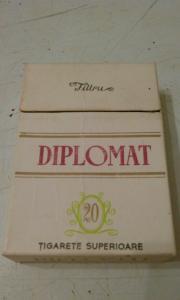 Фото антиквар, Фумофилия Пачка от сигарет Diplomat